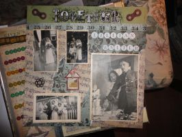 Family Heritage scrapbook page by butterflypromqueen