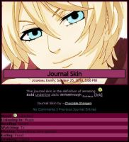 Alois Journal Skin by Chocolate-Shinigami