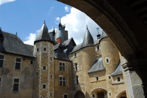 Fougeres rooftops by Austinii