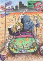 FMA holiday by fullhellgirl