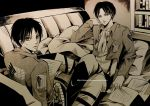 Eren and levi by NilaNandita