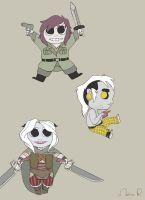A bunch of chibis by Anomalia-Magnetica