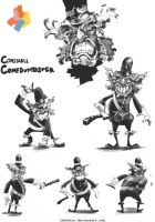 PIL Chalkcepts - Constable Comedumbster by TheAstro