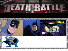 Death Battle: Animated series Batman Battle Royale by kart42