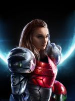 Samus Aran - METROID by Madec-Brice