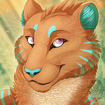 Icon Comish - Tropical Stripes by TwilightSaint
