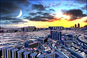 Future Olympia by DorianoArt