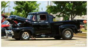 Sharp Black Ford F-100 Truck by TheMan268