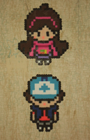 Pinesquest Perlers by VickyViolet