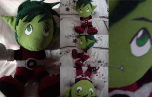 BeastBoy the Plushie by VN by teentitans