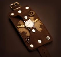 Steampunk Women Watch by Maroventolo