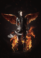 [Manipulation] Mockingjay - The Girl On Fire by licca99