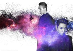 Galactic GTOP wallpaper by SCHIZOPHRENIC-ALICE