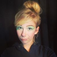 Tinkerbell makeup by kayboo1456