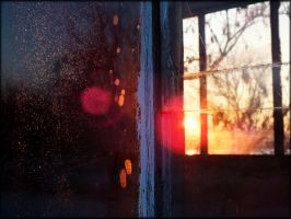Life through a broken window by Mavca