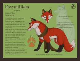 Foxymilliam Reference by Nojjesz