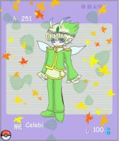 Celebi  Gijinka- Royal  theme by WingsOfImagination