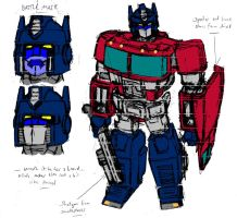 Another Optimus Sketch by Jochimus