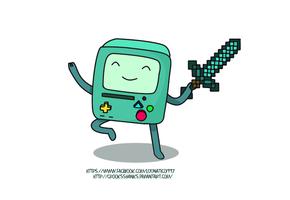 BMO EDITION MINECRAFT HAAH. by Crooksshanks