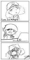 Clementine is hungry Lee by fullangelverde