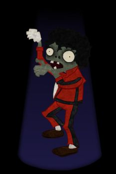 Plants vs Zombies: Thriller by IceQueen--
