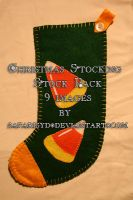Christmas Stocking Stock Pack by SafariSyd