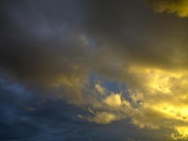 Spectacular evening sky - 18A by HermitCrabStock