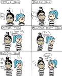 Impel Down Comic - Complaining by Screwed-In-The-Head