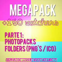 Megapack +150 watchers - Parte 1 by ValeUnicorn123