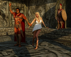 Victory for Sparta by Dracis3D