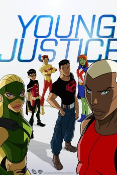young Justice promo by AZNbebop