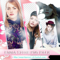 Emma Stone PNGPACK# by AnqeelQueen1