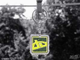 Green Keychain by PaSt1978