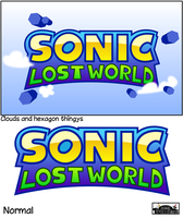 Sonic Lost World - Logo design by MarkProductions
