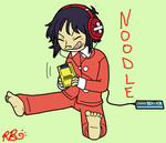 Gaming Addict Noodle by Robin-chan33