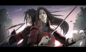 Madara and Hashirama: Alliance by Kibbitzer