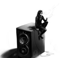 The Speaker. by deathdetonation