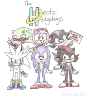 The Hectic Hedgehogs by Candy-Swirl