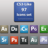 CS3-Like Icon Set by ItchanArt
