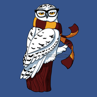 Hipster Owl Shirt Design by SingapuraStudio