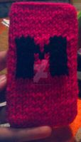 Markiplier mobile phone sock by SteffieNeko