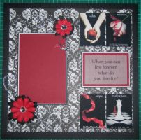 Twilight Scrapbook Layout by debra-e