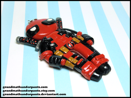 Deadpool Charm by GrandmaThunderpants