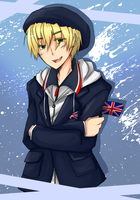 British Winter Olympic Uniform by KaruKaruKira