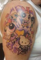Power Puff Girl Tattoo by ShannonRitchie
