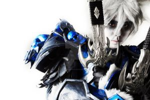 WOW Death Knight Cosplay by Crimson-Shirou