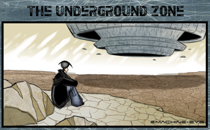 The Underground Zone (colored) by Machine-Eye