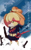 Animal Crossing New Leaf , Kill la Kill parody by SplashBrush