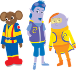 Team Umizoomi^2 Characters by ChameleonCove