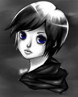 Xion Portrait by ButteryFingers